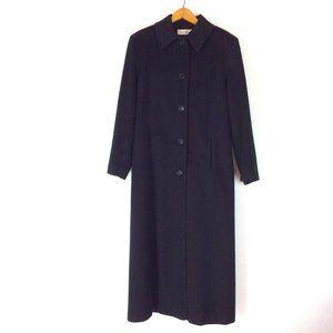 Merino Wool Long Calvin Klein Overcoat